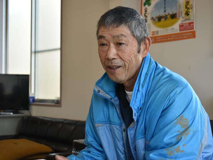 『フロンティアひろの』代表の芳賀吉幸さん