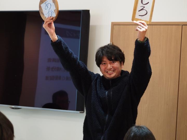 課題解決ゼミ・佐川・中島 集合写真