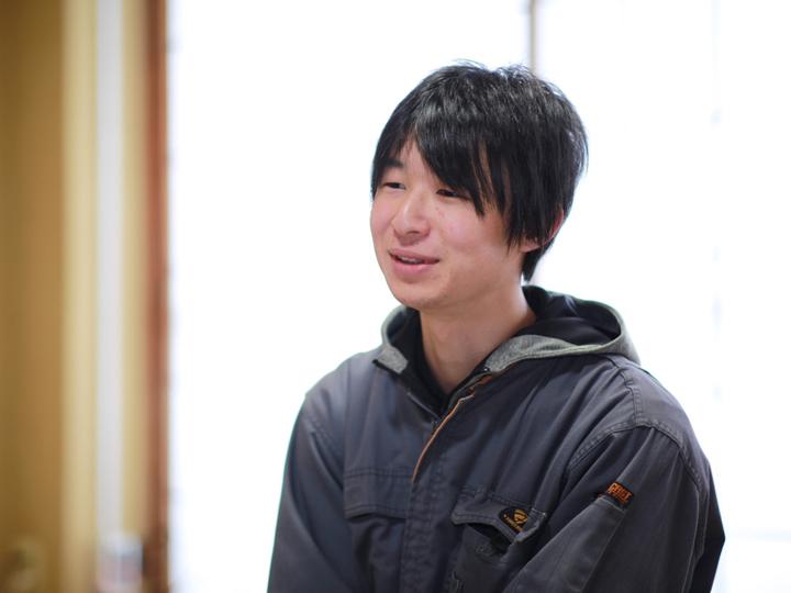 「かすみの学校」卒業生の髙野凌輔さん
