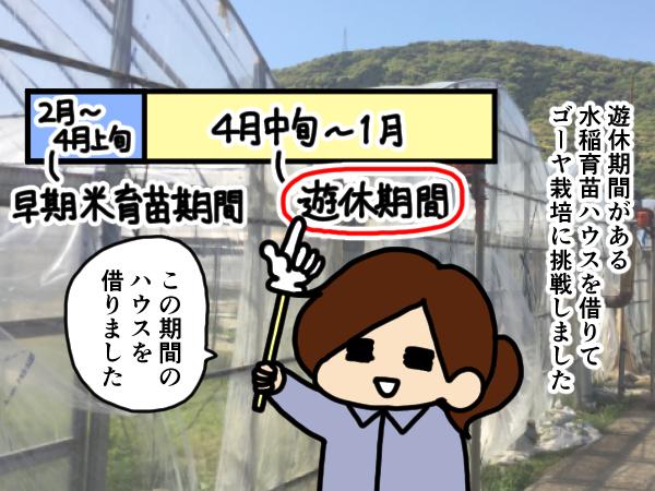 漫画「跡取りまごの百姓日記」【第42話】ハウスの高所作業