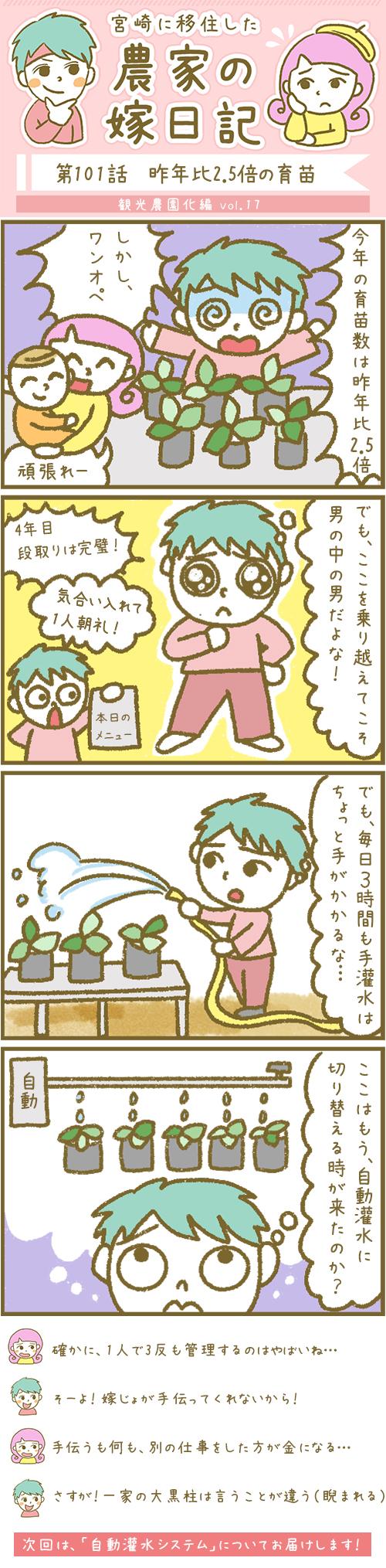 漫画第101話