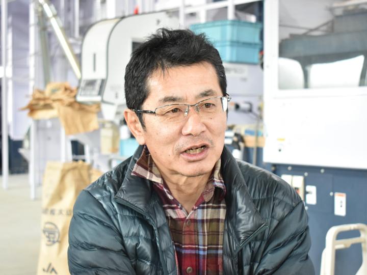 『合同会社飯豊ファーム』代表取締役竹澤一敏さん