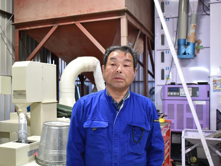 『大谷水稲受託組合』代表の猪狩富夫さん
