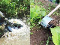 国立研究開発法人・農研機構で安全性評価。刈払機アタッチメントを導入し、除草作業の安全性・作業効率が向上