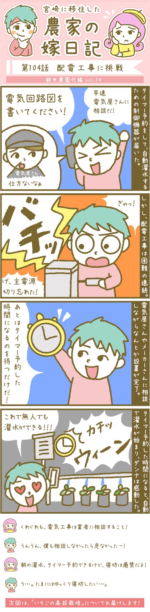 漫画第104話