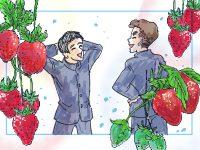 漫画【第6話】酸いも甘いも食べ尽くす!おいしいイチゴ園