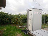 """""""クリーントイレ""""で人手確保! 収穫アルバイトの農作業環境改善に効果"""