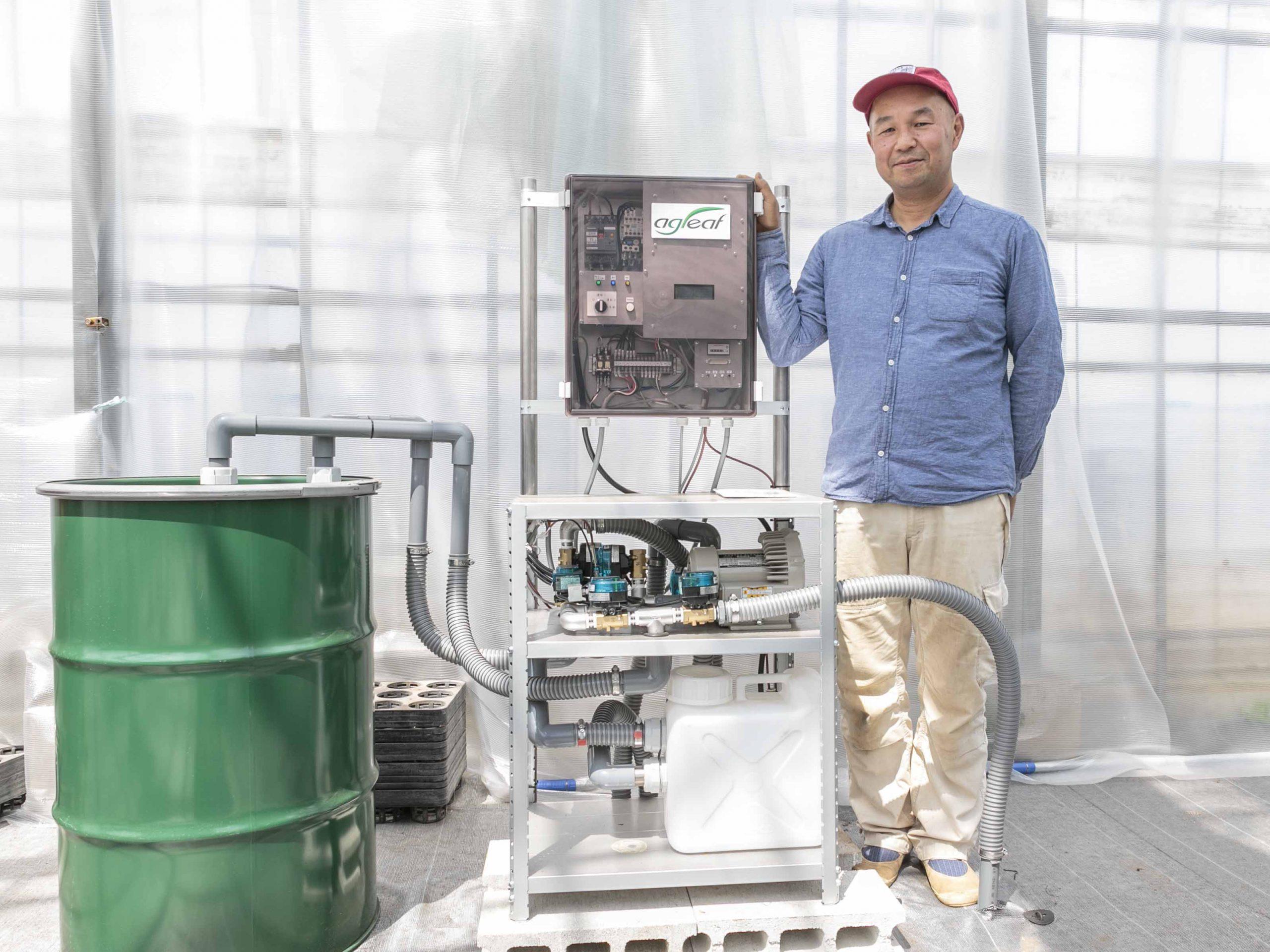 『環境と経済を両立』 SDGsに取り組むトマト農家が選んだ、燃油を使わないCO<sub>2</sub>施用装置とは?