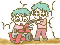 漫画「宮崎に移住した農家の嫁日記」【第111話】畝立て機のコツ