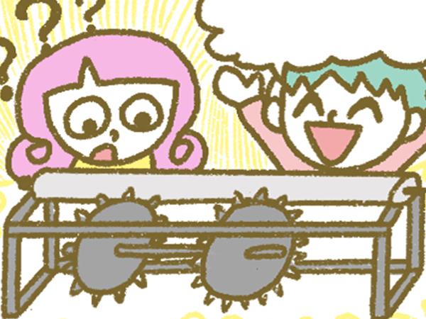 漫画「宮崎に移住した農家の嫁日記」【第116話】マルチ張りの新アイテム