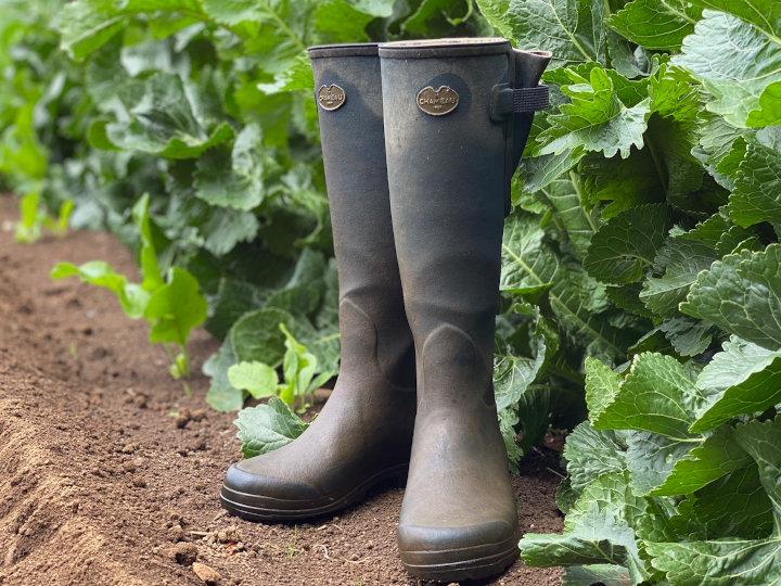 私がフランスの長靴を履く理由~農家自身のブランディングとは~
