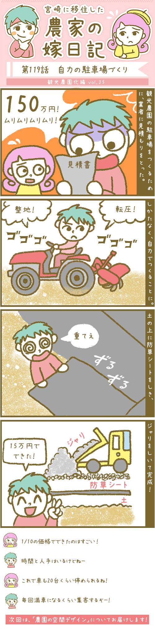 漫画第119話