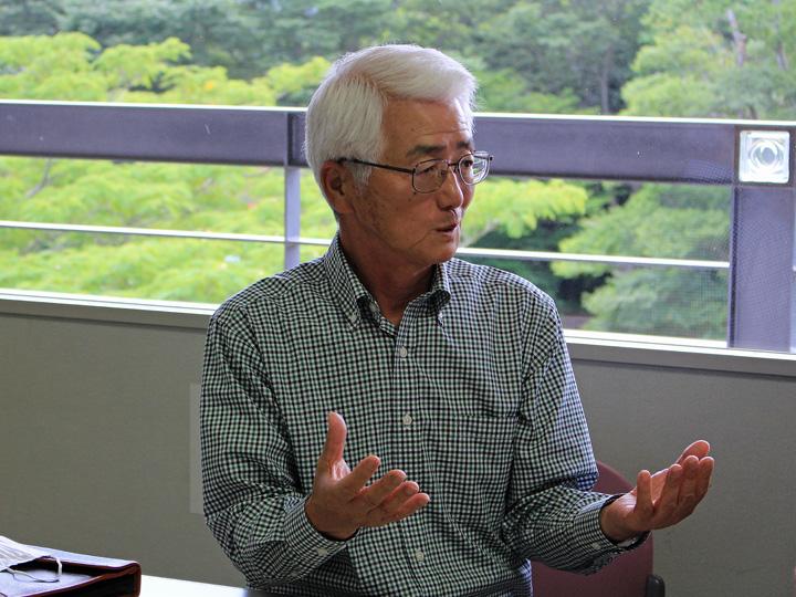 福島県富岡町『ふるさと生産組合』の渡邉組合長