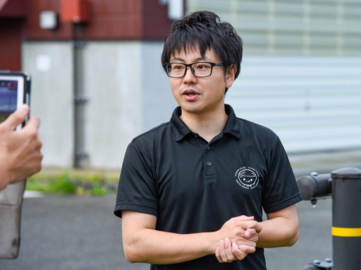 『福島県湯川村役場 産業建設課 商工観光係』の芳賀友洋(はが・ともひろ)