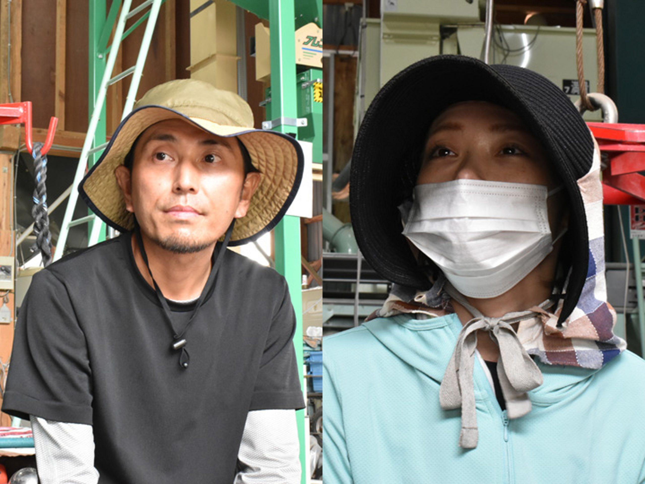 東京から南会津へ移住して『南郷トマト』生産の担い手になるべく研修を受けている落合夫妻