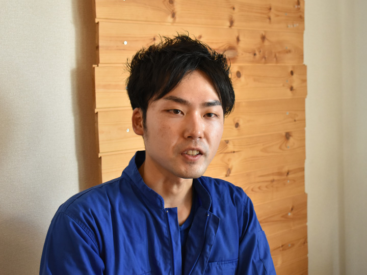 2016年6月に角田市の地域おこし協力隊に着任。3年間の任期終了後、支援団体に入社した舟山直道さん
