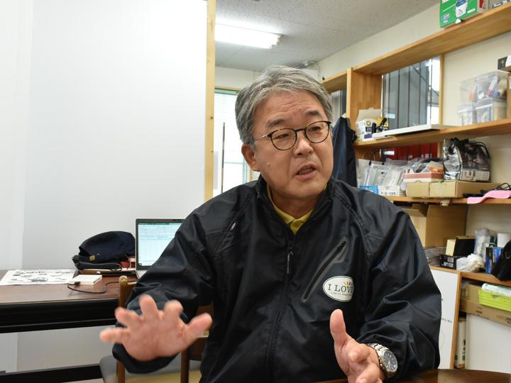 『有限会社I Loveファームおだか』代表取締役の吉田さん