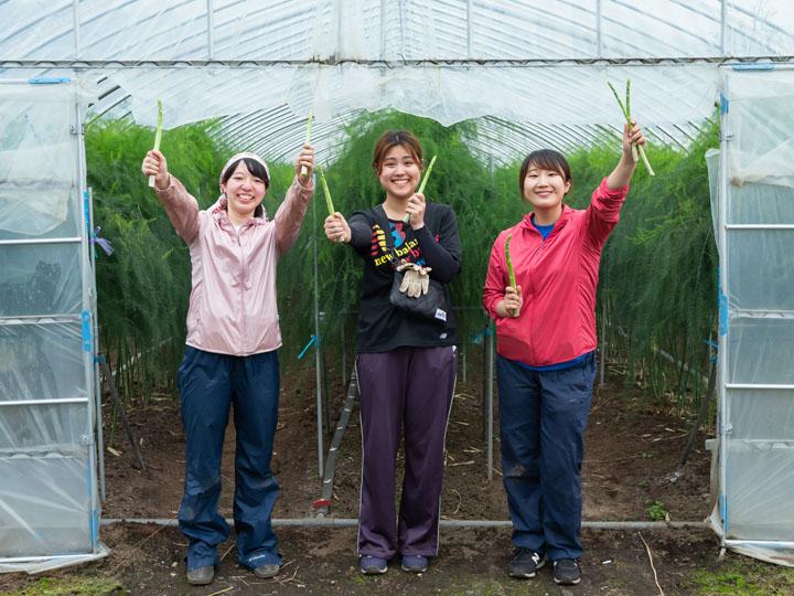 未来を担う若者を後押し! アスパラガス農家『farm-next』がインターンシップで伝える農業のおもしろさ