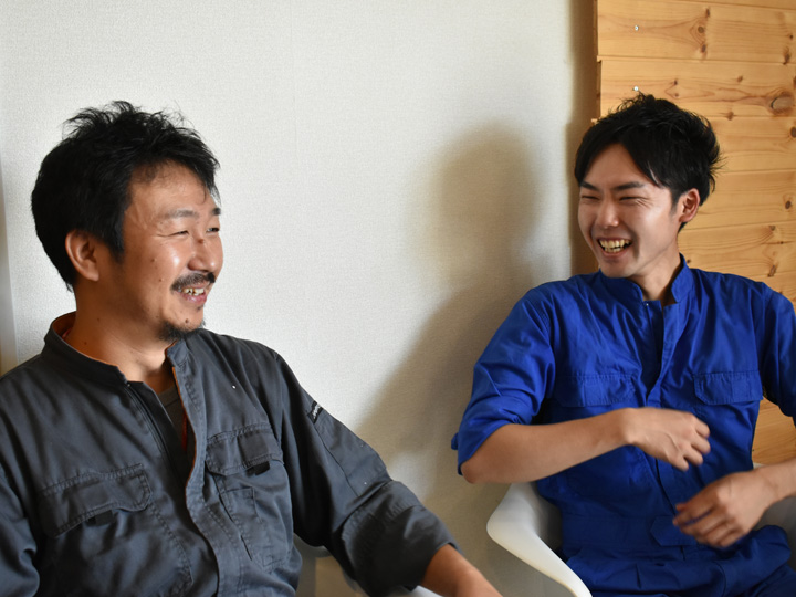 宮城県角田市、地域おこし協力隊OBと支援団体の談笑