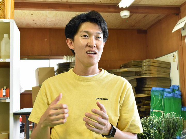 福島県南相馬市小高区の『プランテーション小高合同会社』を運営する伊東直樹さん