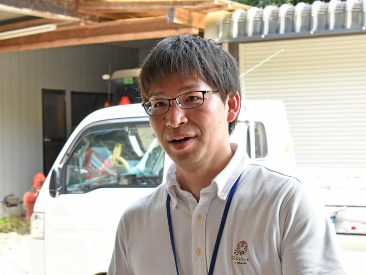 『福島県広野町産業振興課』の北郷弘貴さん