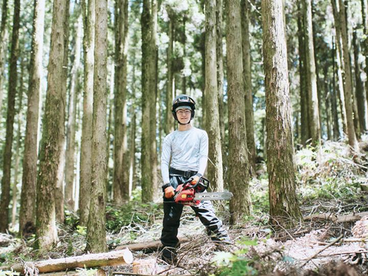 180度転身!? 工学系大学院生が林業に就業した理由。気になる山の仕事、やりがいとは?