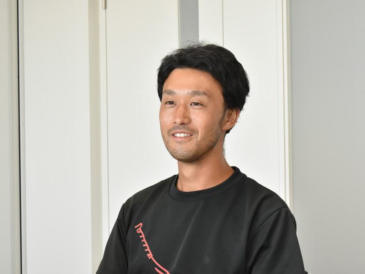 2020年2月に新庄市から移住し現在、スイカ農家になるべく日々研修を受けている高橋さん