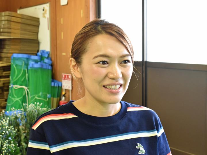 福島県南相馬市の『プランテーション小高合同会社』の菊地沙奈さん