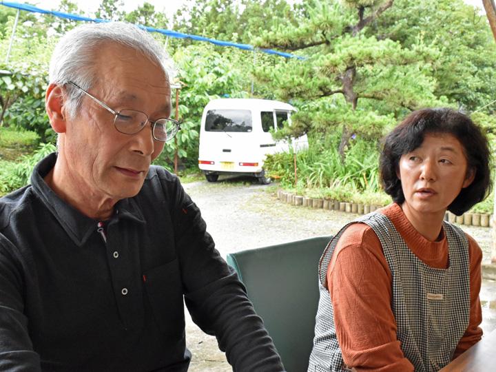 福島県相馬市の『田中果樹園』の田中夫婦