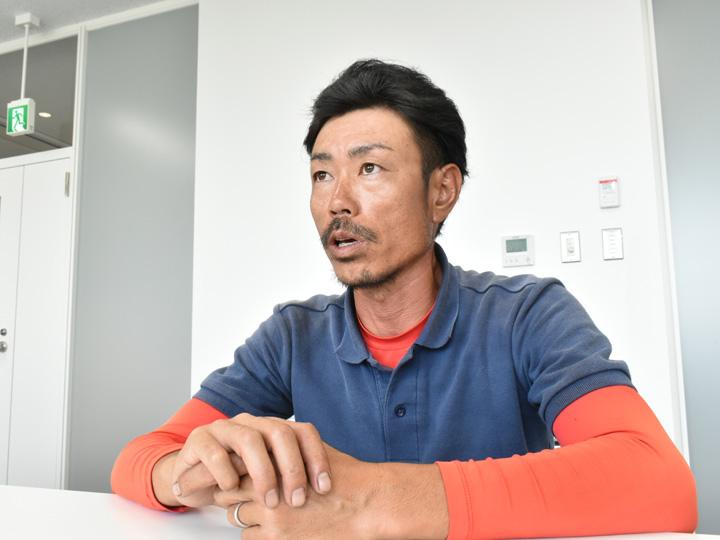 山形県尾花沢市のスイカ農家菅野喜広さん