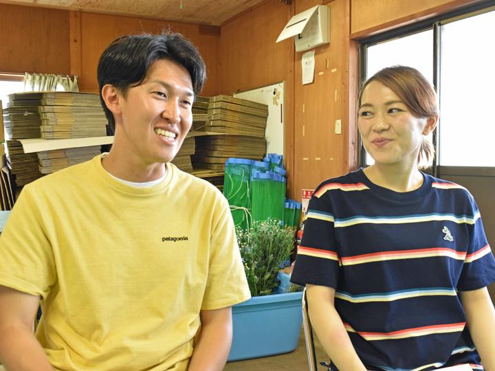 2人のモットーについて語る伊東さんと菊地さん
