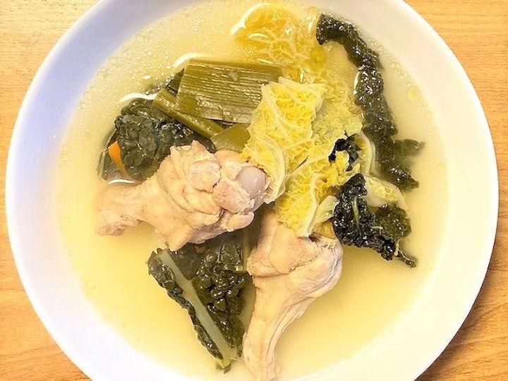 カーボロネロを煮込んだスープ
