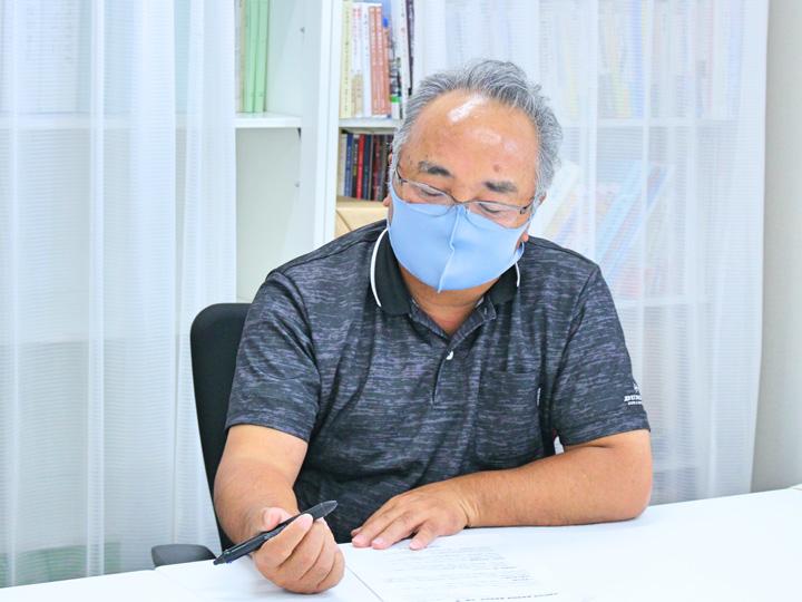 『両竹地区農地保全管理組合』の佐藤孝副組合長
