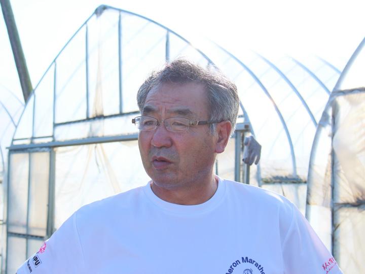 「これからの農業にスマート農業は必要不可欠。若い人の感性を存分に発揮してほしい」と期待の声を寄せる三浦社長