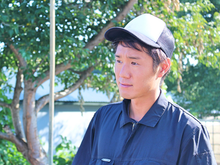20220年度4月からインターンシップ先だった『ベジリンクあきた男鹿』に雇用就農を果たした鈴木さん