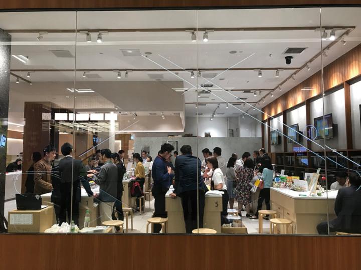 "Japanese Foods ""Premium"" Trade Fairフードショーの様子"
