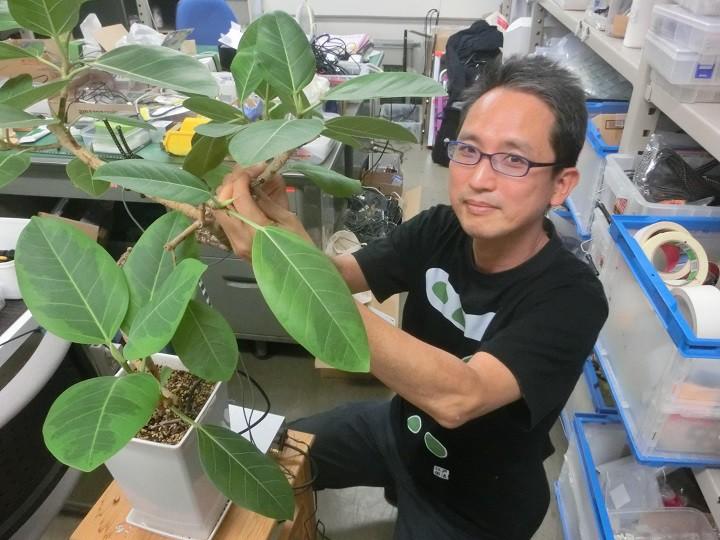 植物が発する超音波を聞け! センサー技術を通じて農業生産に貢献する