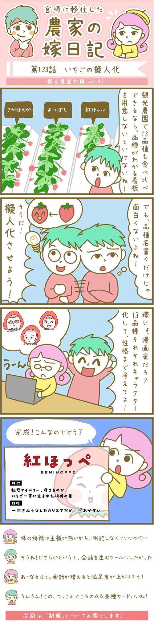 漫画第133話