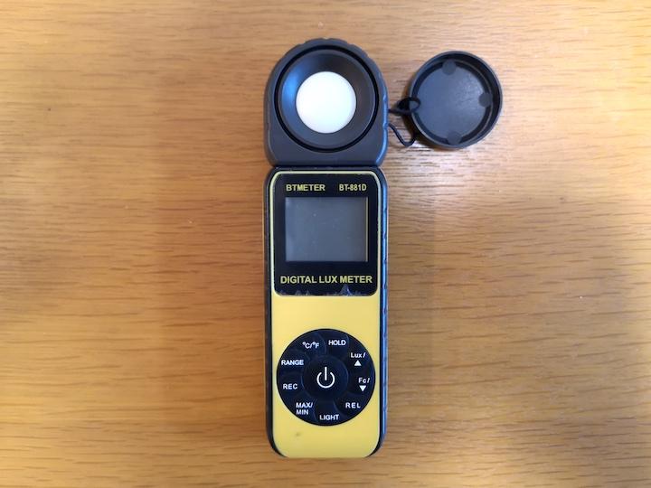 照度計の写真