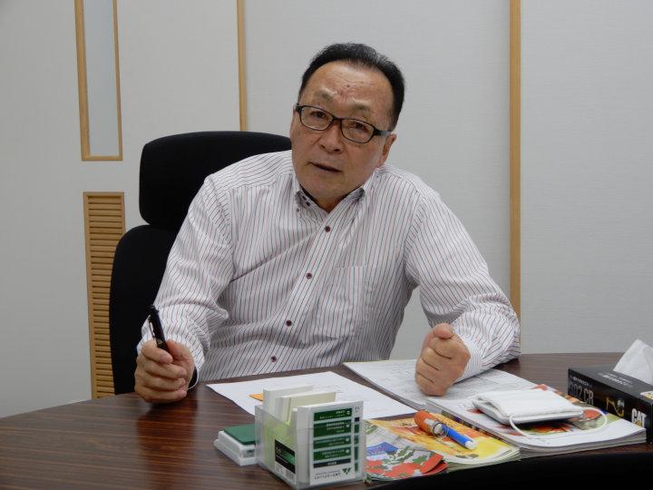 代表の山本さん