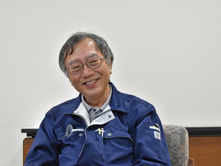 『一関農業改良普及センター』の皆上和弘さん。新規就農相談から就農後のサポートまで行います