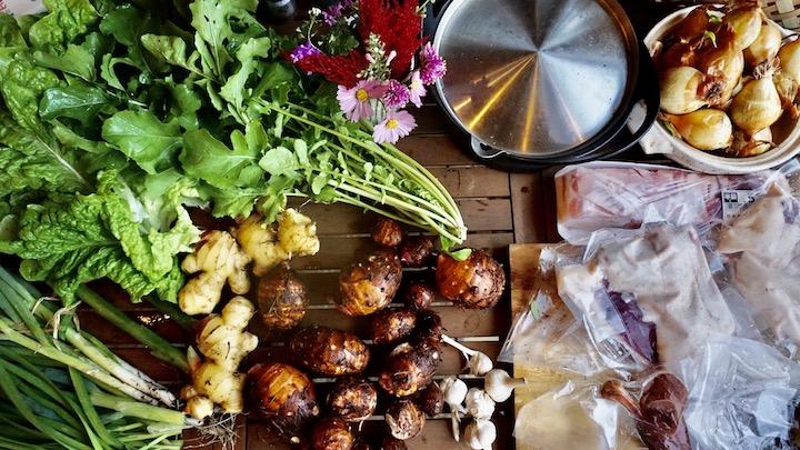 畑の野菜食材
