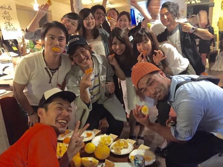 大阪でミカン配る話 イベント会場