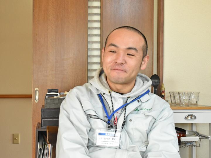 一関地方の生産量県内トップクラスの強みを語る『JAいわて平泉 営農部園芸課』の佐々木俊之さん
