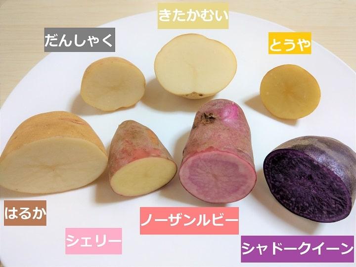 直売所好きライターがジャガイモ7種類を3つの調理法で食べ比べてみた