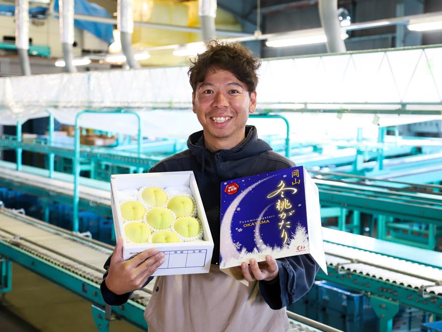 【岡山県7】新たなモモ農家がまた1人誕生! ―会社勤めから岡山県総社市のモモ農家に転身