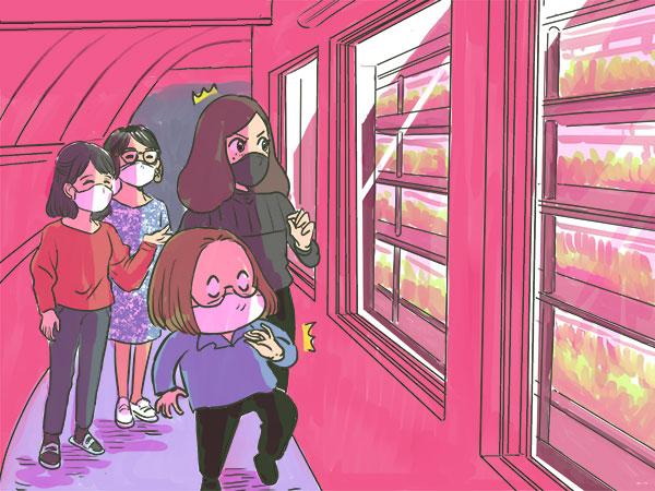 漫画【第10話】植物工場は秘密組織⁉