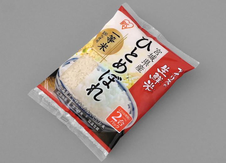 生鮮米パック米(アイリスオーヤマ)