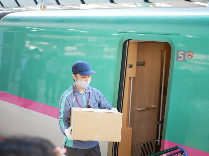 産直食材を新幹線輸送、ポケマルが次世代型マルシェをスタート!