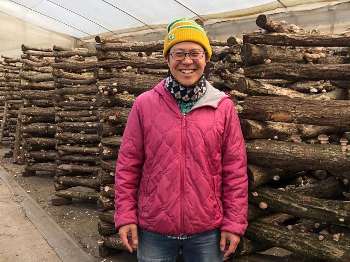 大嘗祭に納めたシイタケ農家、厳しい状況を救った珍しい野菜